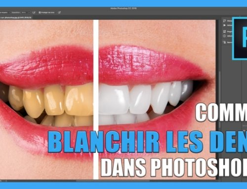Comment blanchir les dents sur photoshop CC