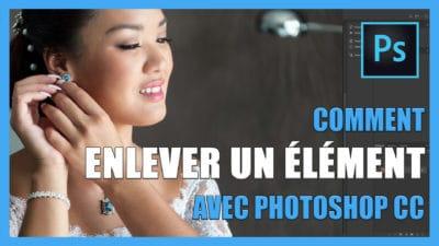 Tutoriel pour apprendre Comment enlever un element d'une photo avec Photoshop CC / retouche photo gratuit