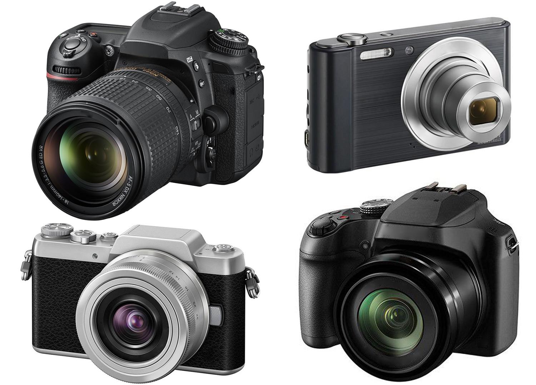 Quels sont les différents types d'appareils photo numérique / différents types d'appareils photo