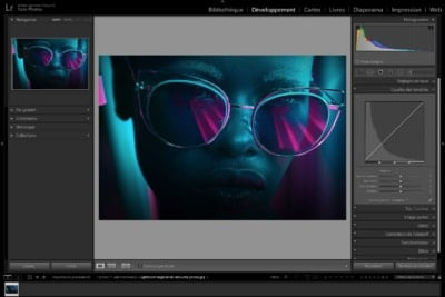 logiciel de retouche photo lightroom