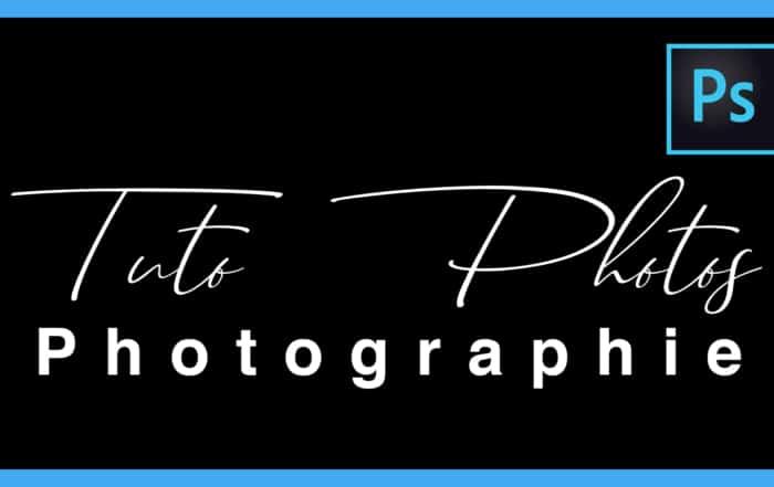Ajouter une signature sur une photo avec Photoshop CC / signature photo
