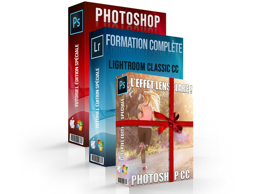 Tutoriel Photoshop et Lightroom gratuit