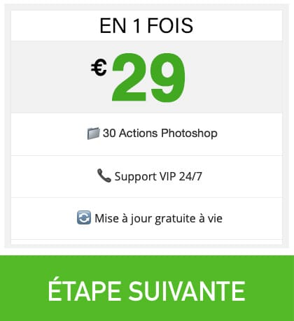 Prix Action Retouche Photo Visage Photoshop