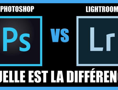 Quelle est la différence entre Photoshop et Lightroom