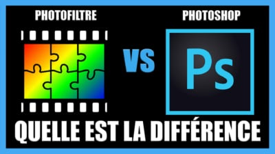 Photofiltre ou Photoshop ? Quel logiciel de retouche Photo ?
